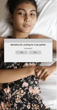 опросник с поиском секс-партнёра